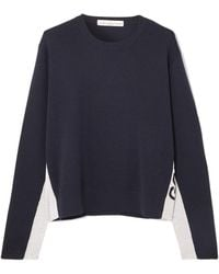 Golden Goose Deluxe Brand - Metallic Wool-blend Jacquard-knit Sweater - Lyst