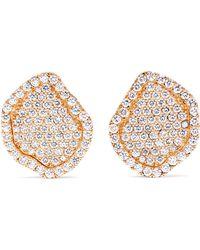 Kimberly Mcdonald - 18-karat Rose Gold Diamond Earrings - Lyst