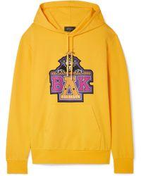 Balmain - Beyoncé Coachella Printed Cotton-blend Jersey Hoodie - Lyst