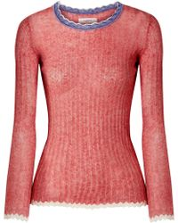 Étoile Isabel Marant | Aggy Ribbed Cotton Sweater | Lyst