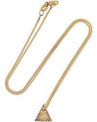 Natasha Schweitzer Aether Element 9-karat Gold Necklace - Metallic