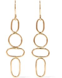 Melissa Joy Manning - 14-karat Gold Earrings Gold One Size - Lyst