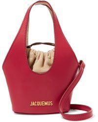 Jacquemus - Le Cariño Leather Shoulder Bag - Lyst