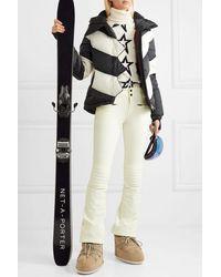 Perfect Moment Aurora Flare Padded Ski Pants - White