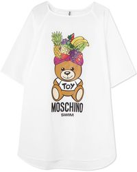 Moschino | Printed Cotton-jersey T-shirt | Lyst
