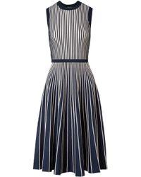 Jason Wu - Two-tone Stretch-knit Dress - Lyst