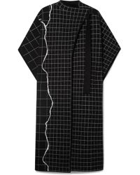 Akris - Reversible Checked Cashmere-blend Cape - Lyst