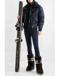 CORDOVA The Aspen Striped Stretch Ski Suit - Blue