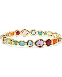 Ippolita - Rock Candy 18-karat Gold Multi-stone Bracelet - Lyst