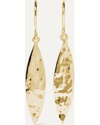 Jennifer Meyer 18-karat Gold Earrings - Metallic
