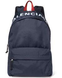 Balenciaga Wheel Backpack S - Blue
