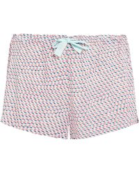 CALVIN KLEIN 205W39NYC - Printed Voile Pajama Shorts - Lyst