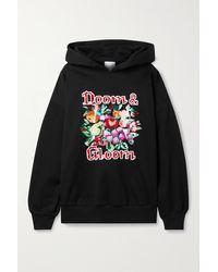 Ashish Sequin-embellished Cotton-blend Jersey Hoodie - Black