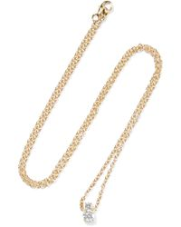 Jemma Wynne | 18-karat Gold Diamond Necklace | Lyst