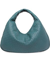 010b62d9ea Lyst - Bottega Veneta Large Veneta Intrecciato Leather Shoulder Bag ...