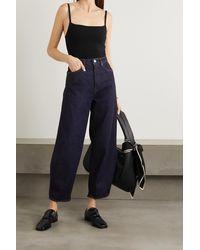 Totême Stretch-knit Bodysuit - Black
