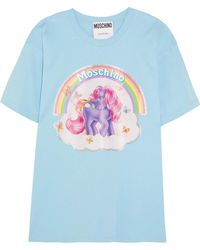 Moschino | + My Little Pony Printed Cotton-jersey T-shirt | Lyst