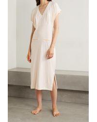 Skin + Net Sustain Farida Organic Cotton-blend Jersey Nightdress - Natural