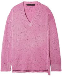 Marc Jacobs - Oversized Cashmere Jumper - Lyst
