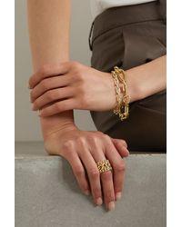 Jennifer Fisher Assorted Triple Dean Gold-plated Ring - Metallic