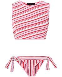 Tabula Rasa - Ibis Striped Knitted Bikini - Lyst