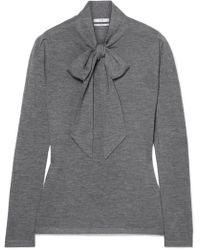 Co. - Pussy-bow Cashmere Sweater - Lyst