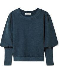 Apiece Apart - Olimpio Cotton Sweatshirt - Lyst
