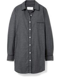 Three J Nyc - Grace Cotton-flannel Nightdress - Lyst