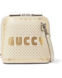 Gucci - Guccy Sega® Print Mini Shoulder Bag - Lyst