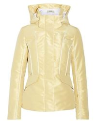 Fendi - Roma Metallic Padded Ski Jacket - Lyst