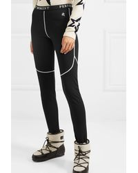 Perfect Moment Thermal Stretch Leggings - Black