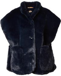 Burberry - Faux Fur Wrap - Lyst