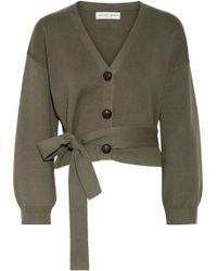 Apiece Apart - Salinas Cotton And Cashmere-blend Cardigan - Lyst