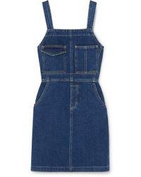 Eve Denim Michelle Denim Mini Dress - Blue