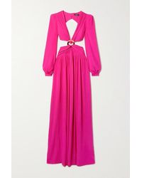 PATBO Cut Out Evening Gown - Pink