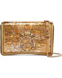 6820e9ea09b Rubylou Metallic Leather And Foil Shoulder Bag