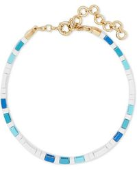 Roxanne Assoulin Mykonos Choker Mit Emaille - Blau