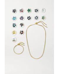 Carolina Bucci Forte Beads 18-karat Gold And Multi-stone Gift Set - Metallic