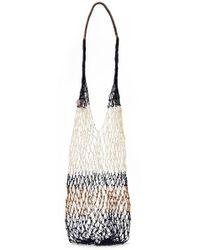 Sophie Anderson - Malla Striped Macramé Shoulder Bag - Lyst