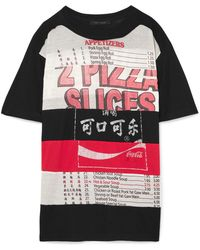 Marc Jacobs - Oversized Printed Cotton-jersey T-shirt - Lyst