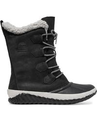Sorel - Out 'n Abouttm Plus Leather And Suede Boots - Lyst