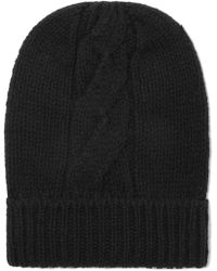 Majestic Filatures - Cable-knit Wool And Cashmere-blend Beanie - Lyst