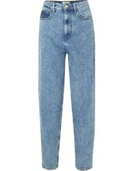 Étoile Isabel Marant Corsyj High-rise Tapered Jeans - Blue
