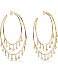 Jacquie Aiche - 14-karat Gold Diamond Earrings - Lyst