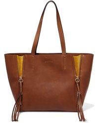 Chloé - Milo Medium Leather Tote - Lyst