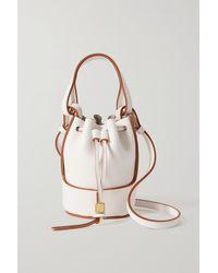 Loewe - Balloon Nano Leather Bucket Bag - Lyst