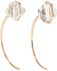 Melissa Joy Manning - 14-karat Gold Herkimer Diamond Earrings - Lyst