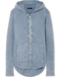 ATM - Cotton-terry Hoodie - Lyst