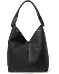 Anya Hindmarch | Bucket Small Textured-leather Tote | Lyst