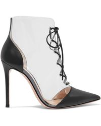 Gianvito Rossi - Plastic Embellished Boots - Lyst